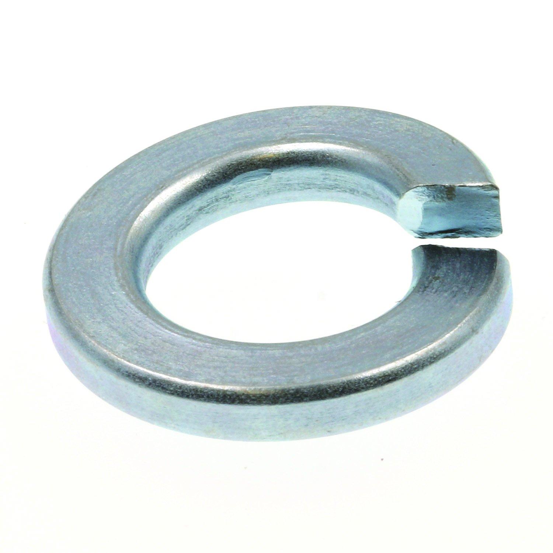 Prime Line 9082229 Medium Split Lock Washers 3 8 in. Zinc Plated Steel 100 Pack