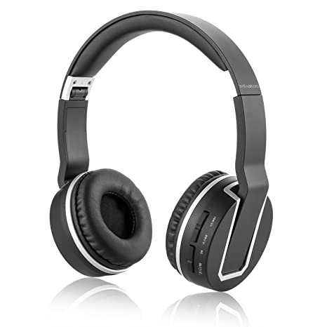 mindkoo Bluetooth 4.0 auriculares auriculares estéreo Bass auriculares inalámbricos con micrófono incorporado (7 horas tiempo