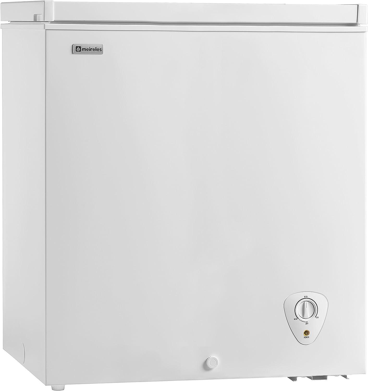 Meireles MFA 150 W Chest Freestanding White A+ 145L - Congelador ...