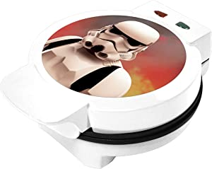 Star Wars Stormtrooper Waffle Maker- Star Wars Icon On Your Waffles- Waffle Iron