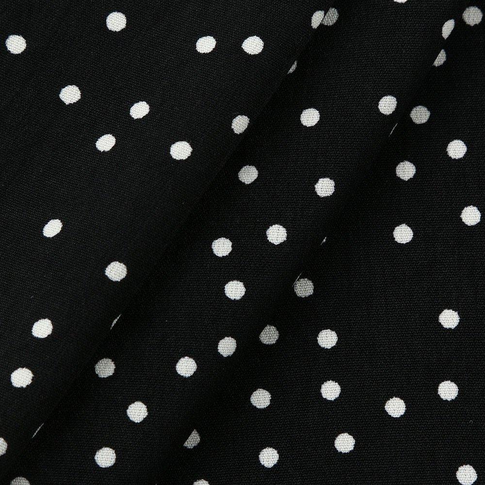 Amazon.com: ABASSKY Women Polka Dot Long Sleeve Off Shoulder ...