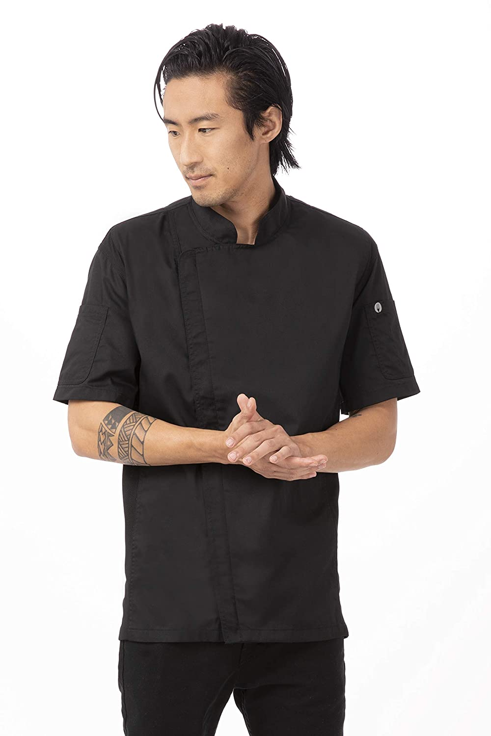 93c443a5 Chef Works Men's Springfield Chef Coat