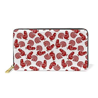 Amazon.com: Red Funny Rooster - Cartel de piel auténtica ...