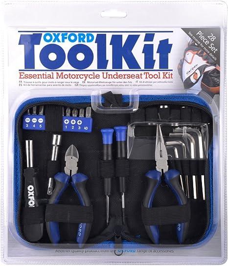 Oxford Rangement sous Moto kit doutils 28/pi/èces