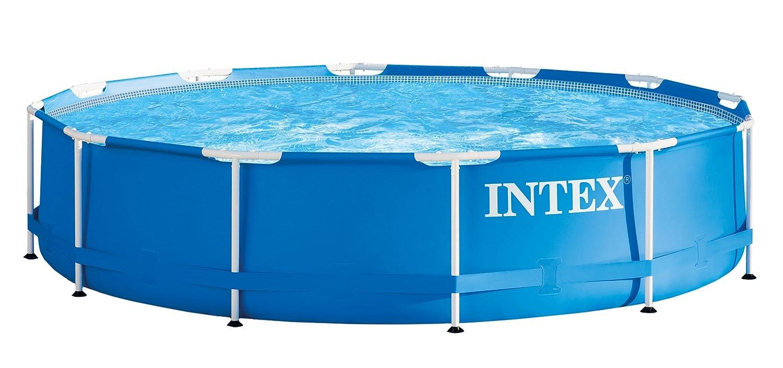 INTEX(インテックス) プール メタルフレームプール 366×76cm 28211 [日本正規品]   B0744CTXP7