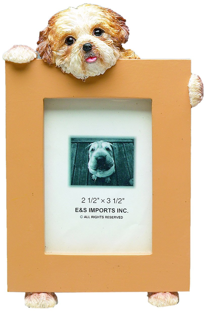 Shih Tzu Puppycut Tan Dog - 2 1/2'' x 3 1/2'' Photo/Picture Frame by E&S Pets
