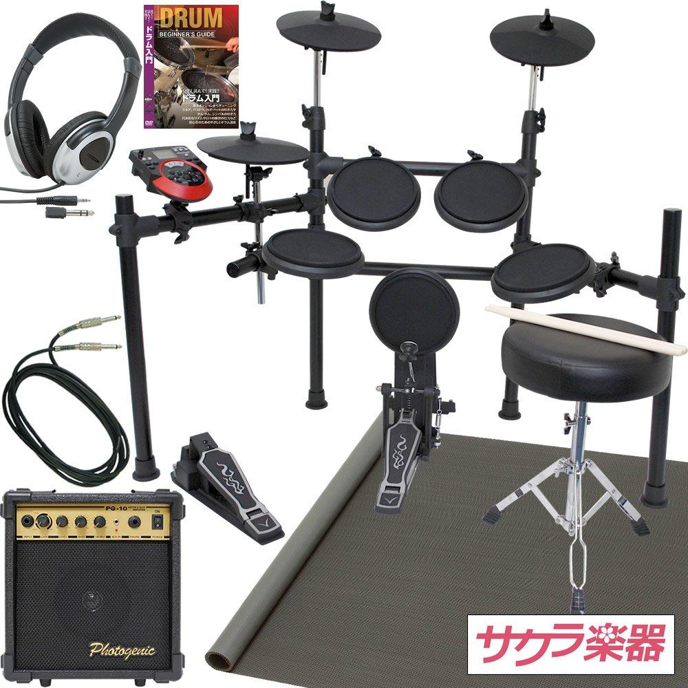 新作からSALEアイテム等お得な商品満載 電子ドラム MEDELI 電子ドラム DD-512J DD-512J アンプ&マットセット(9757407093)【セット選択:アンプ MEDELI/ドラムマットセット】 B0057M4GXS, USEDブランド品専門店 StarBrand:11528746 --- movellplanejado.com.br