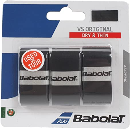 Overgrip Babolat VS Original X3 Preto