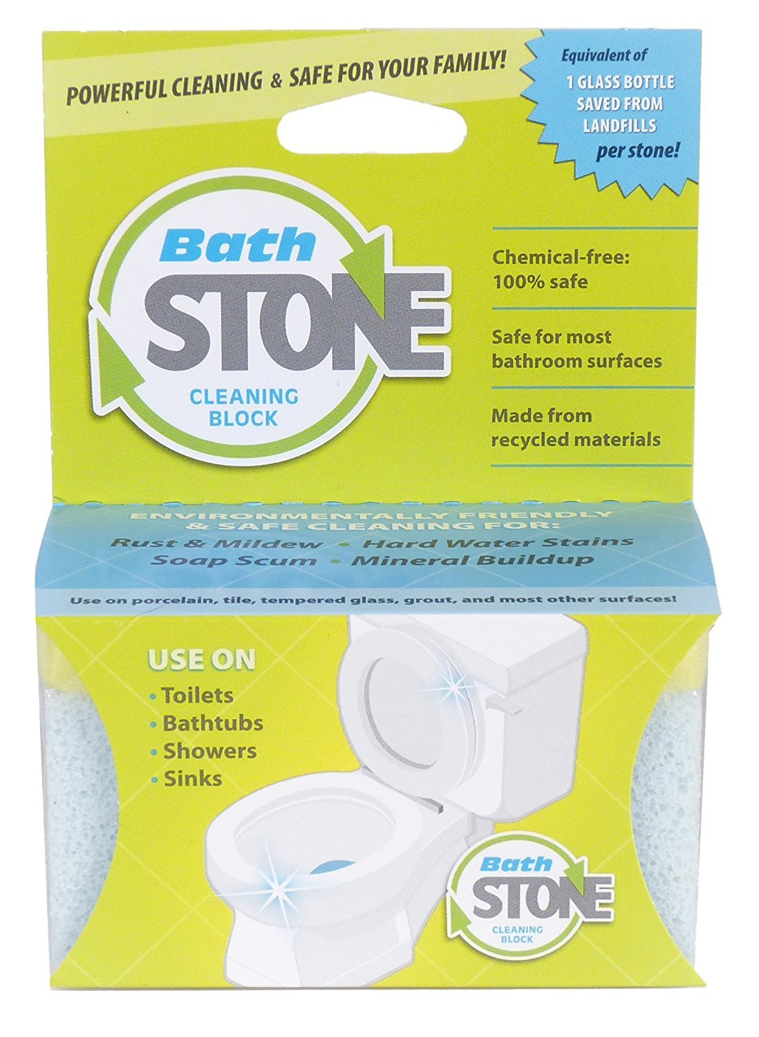EarthStone ToiletStone Cleaning Block with Bathstone Cleaning Block by EarthStone International (Image #5)