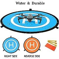 "Drone Landing Pad, 30""/75cm Waterproof Portable Foldable Helipad Helicopter Landig Mat for DJI Mavic Pro Phantom 2/3/4/ Pro, RC Drones Helicopter, Mavic Pro, Karma drone, DJI Mavic Air, Inspire and Mo"