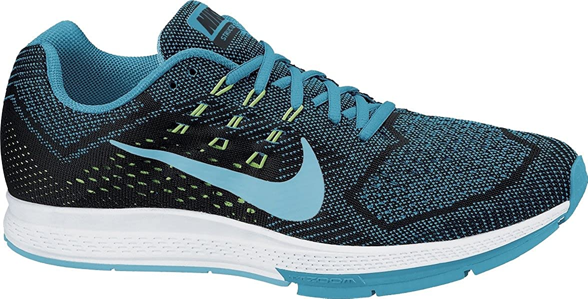 reputable site 84c26 95ce3 Amazon.com   Nike Air Zoom Structure 18 Mens Blue Lagoon Clrwtr-Blk-Flsh  Running Shoe   Shoes