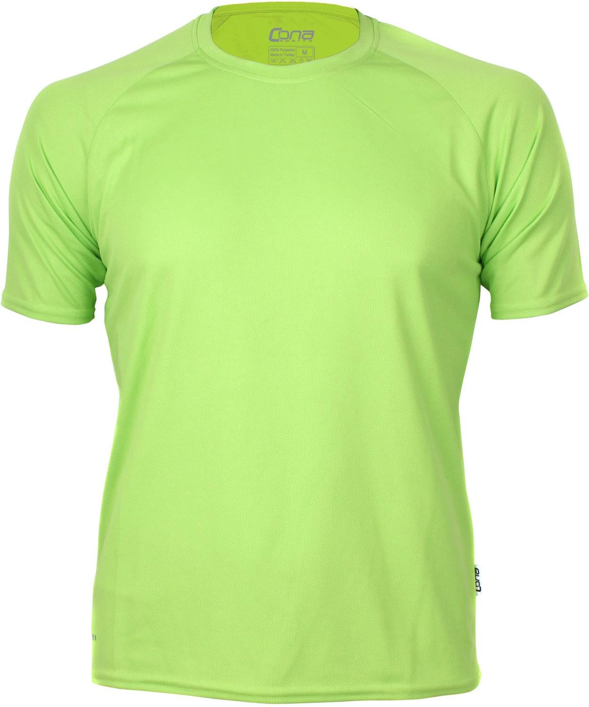 Basic Funktions - Sport T-Shirt in vielen Farben Farbe Apple Green Größe XS
