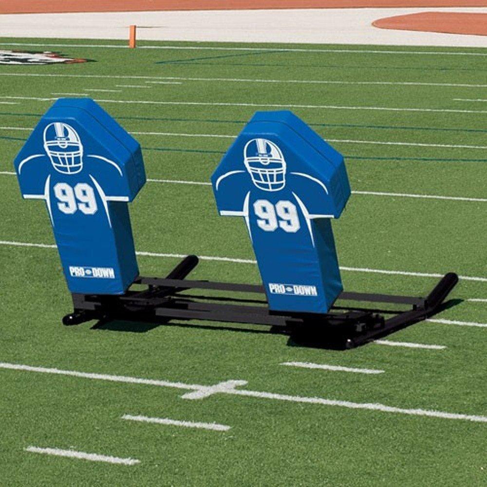 Football Blocking Sled with Custom Cone Pad - Varsity M-Series - 4 Man by TACVPI