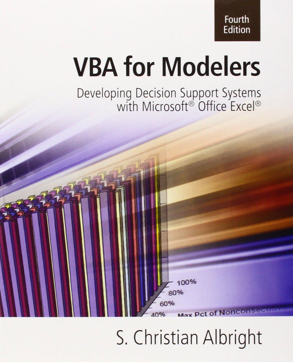 VBA for Modelers ISBN-13 9781133190875