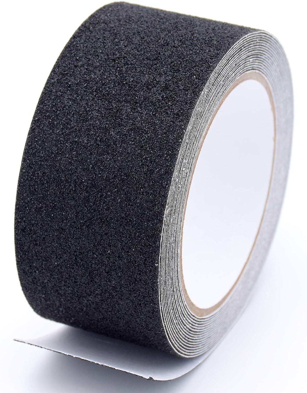 marchepieds ruban abrasif pour rail de s/écurit/é pour escaliers 5 cm Ruban antid/érapant,YMWALK coussinet antid/érapant noir /à grain /élev/é bande antid/érapante abrasive /à forte adh/érence