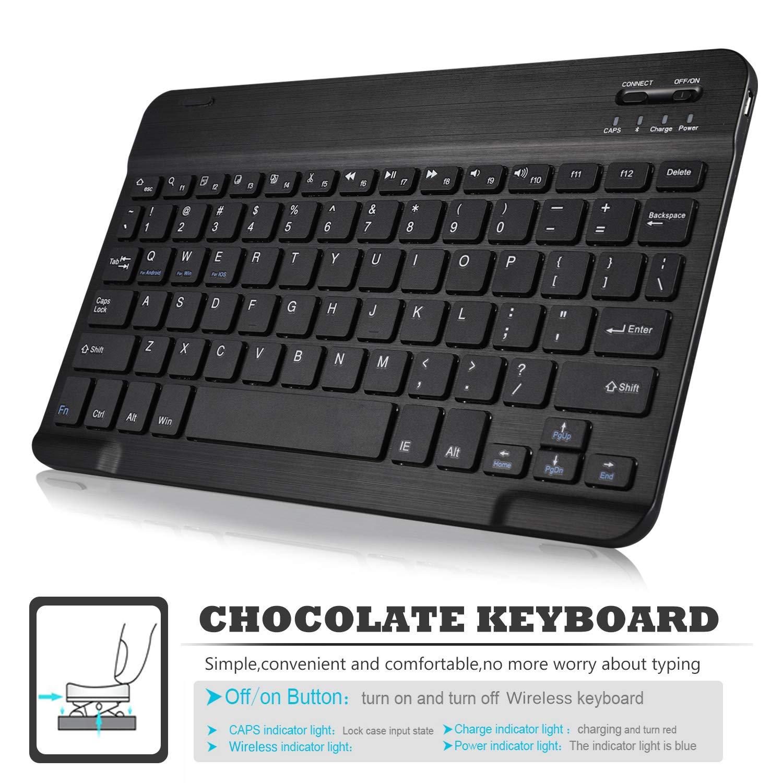 ELTD Teclado Estuche para Lenovo Tab M10,[QWERTY ...