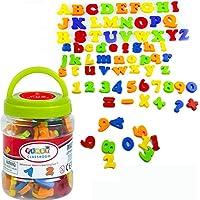 SIMUER Letras y números magnéticos Magnetic Alphabet Letters