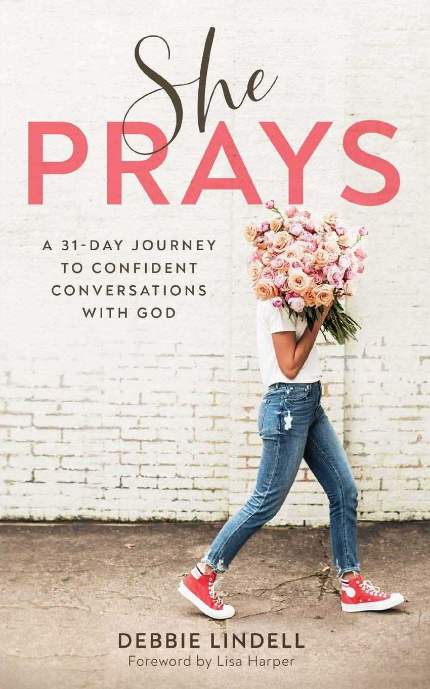 She Prays: A 31-Day Journey to Confident Conversations with God {A Book Review}