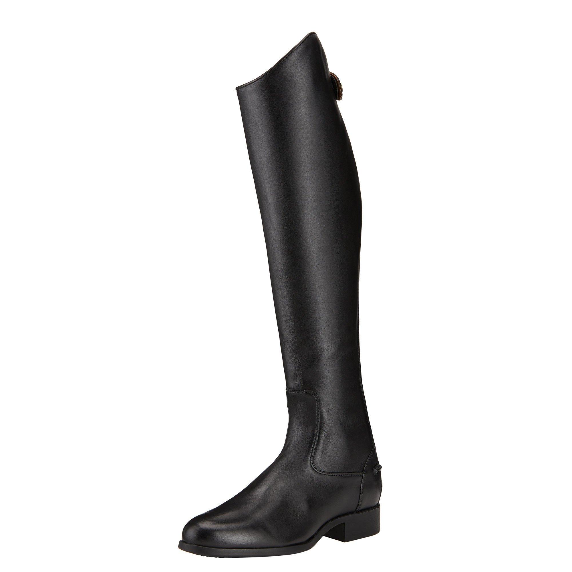 Ariat Womens Heritage Contour Dress Zip Tall Riding 5.5 B / Medium(Width) X-Slim(Calf) Medium(Height) Black