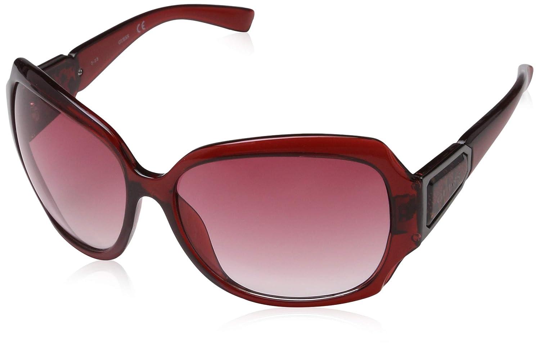 Guess Gafas de Sol GU0217F 62F36 (62 mm) Burdeos