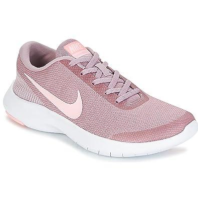 Nike Damen Flex Experience Run 7 Rosa Leder/Synthetik Laufschuhe