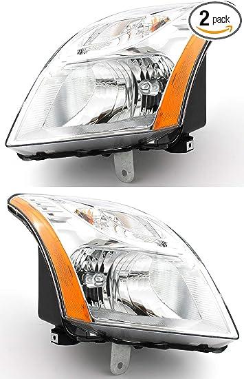 Headlight For 2010-2012 Nissan Sentra SR SE-R Spec V Models Left With Bulb