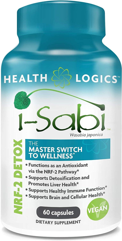 i-Sabi Wasabi Supplement Vegetarian Capsules, 60 caps