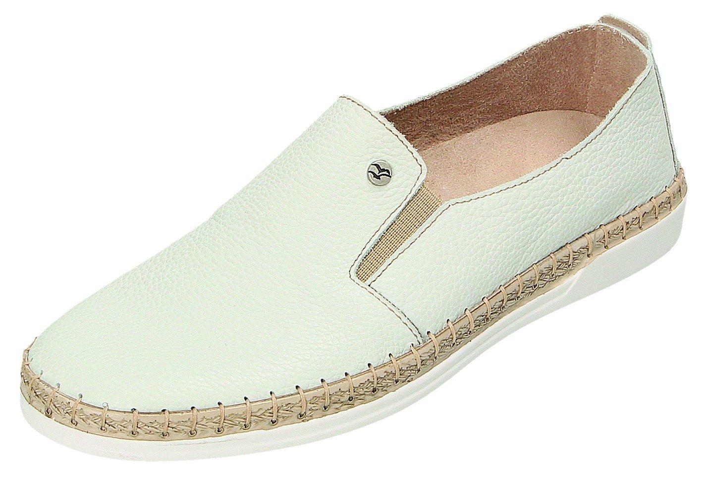 Fly Flot Zapatos de Cordones Para Mujer Weiß 39 EU|Weiß