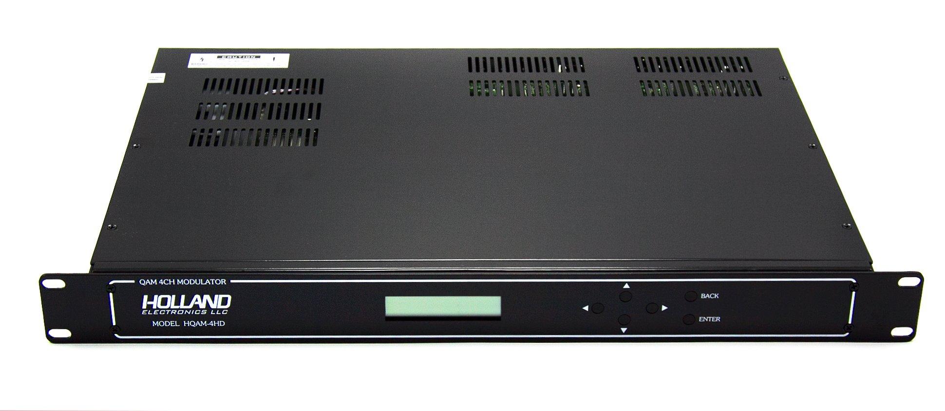 HQAM-4HD, Holland Electronics 4-Channel HD QAM Modulator