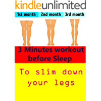 3-Minute Workout Before Sleep to Slim Down Your Legs (images included)