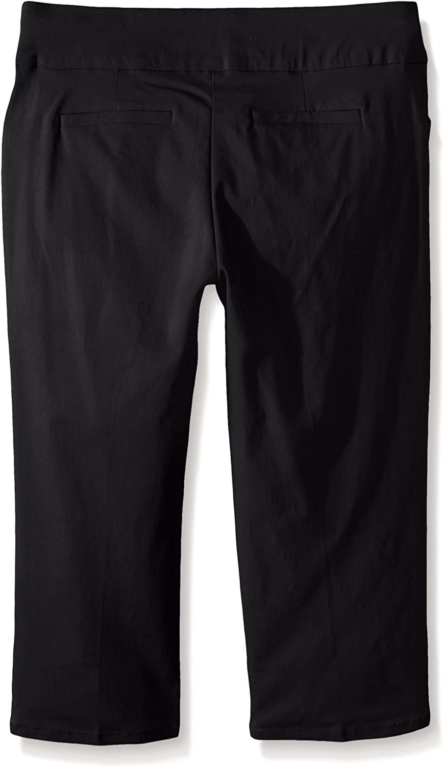 Napa Valley Womens Petite Size Superstretch Straight Leg Pull On Pant