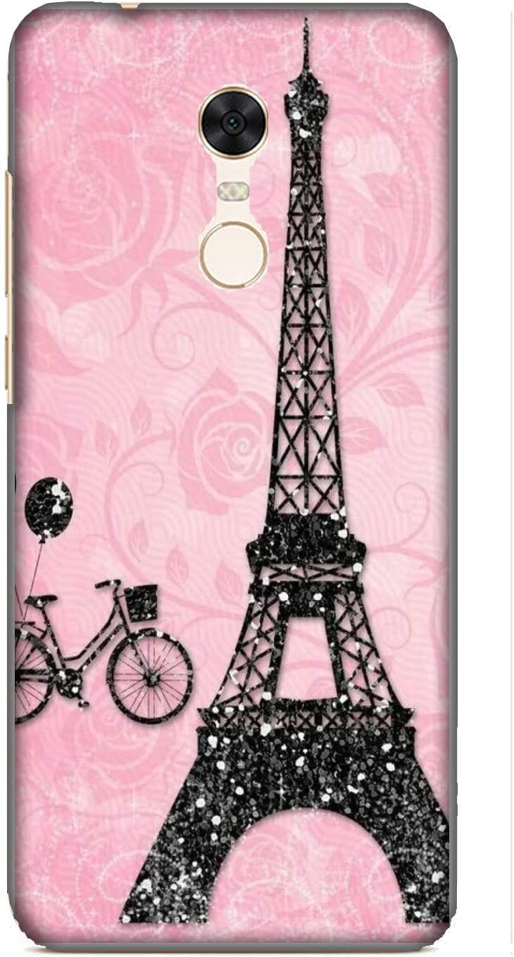 Funda Redmi 5 Plus Carcasa Xiaomi Redmi 5 Plus Torre Eiffel Negro ...