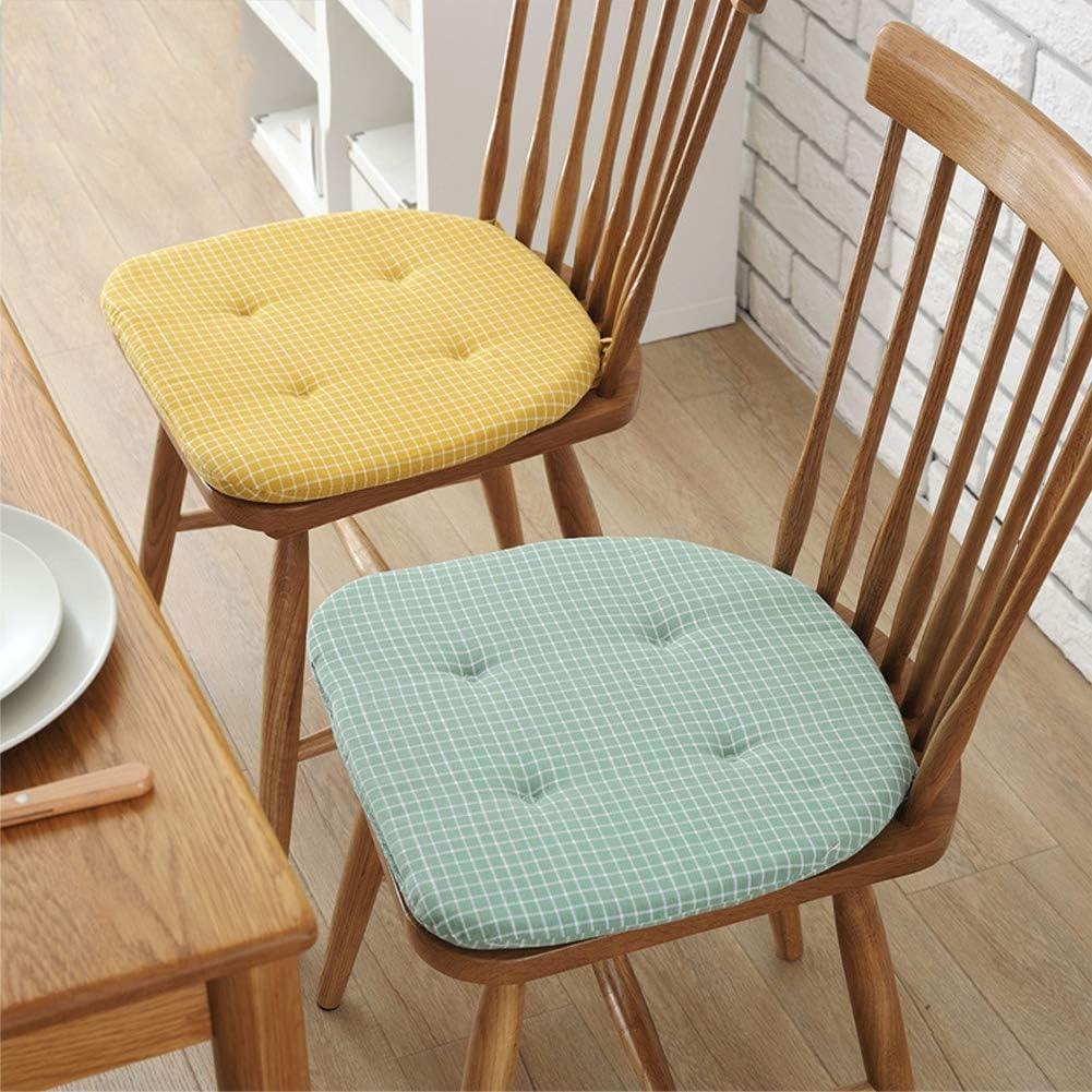 BONAE Cuscini per sedie in Cotone 100%, con Cravatte