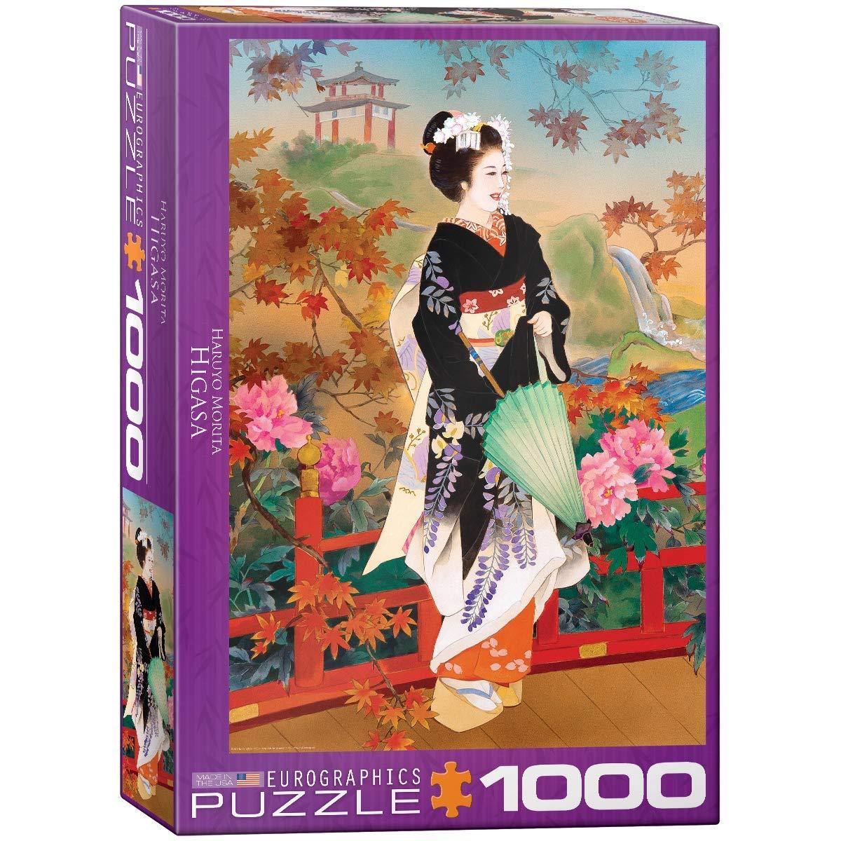 EuroGraphics Agemaki Jigsaw Puzzle 1000-Piece