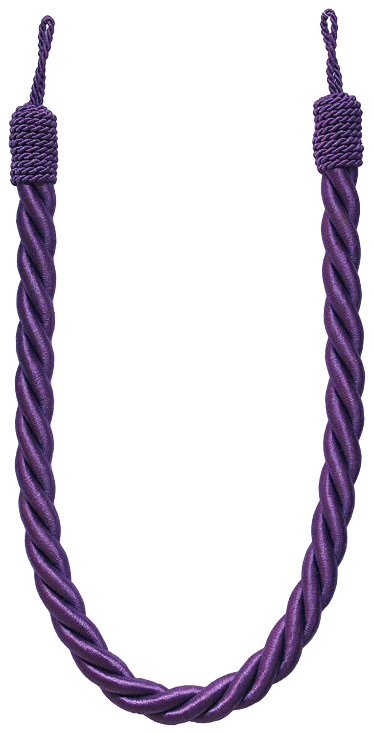 Jones Interiors Reef Twisted Rope Tieback, Cassis HB550/CAS