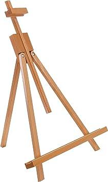 Art Supply Small Tabletop Wooden H-Frame Studio Easel Adjustable Beechwood U.S