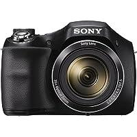 "Câmera Digital Sony Dsc-h300, 20.1mp, Zoom Ã""ptico 35x, Filma Hd, Foto Panorâmica"