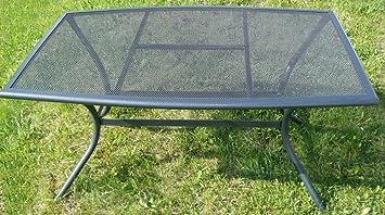 Amazon De Metall Tisch Streckmetalltisch Mercury Streckmetall Tisch