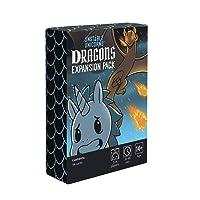 Unstable Unicorns Licornes instables Pack d'extension Dragon pour Jeu de société pour Adultes