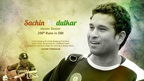 Buy Sachin Tendulkar Cricketer Background Wallpaper Poster On Fine