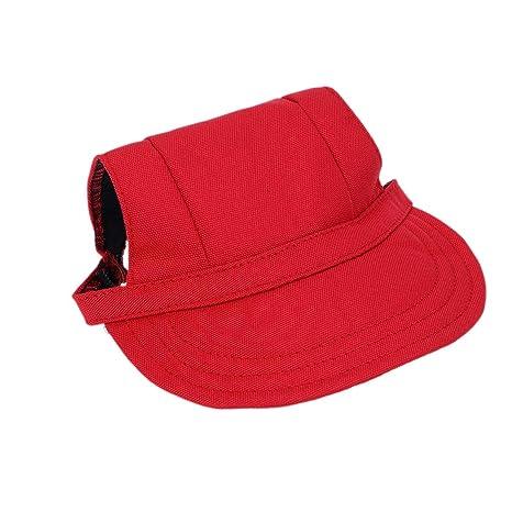 Balacoo Sombrero de Perro Gorra de béisbol Sombrero de Visera para ...