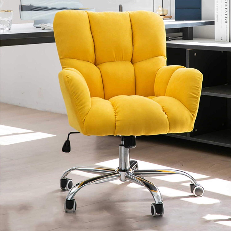 360° svängbar datorstol, hemmakontor stol ergonomisk, mellanrygg justerbar skrivbordsstol för hemmakontor vardagsrum, korsryggsstöd gUL