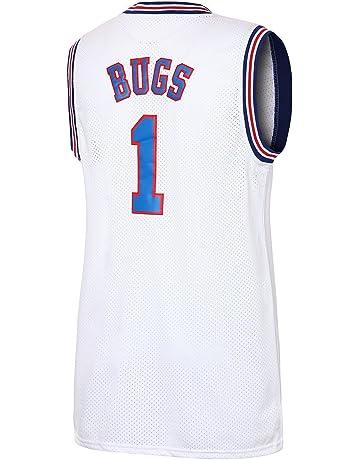 3cbf0d9fb7c JOLI SPORT Bugs 1 Space Men s Movie Jersey Men s Basketball Jersey S-XXXL  White