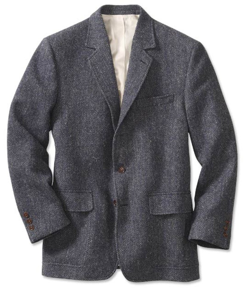 Orvis Lightweight Highland Tweed Sport Coat / Long, Blue/Gray, 42 by Orvis (Image #1)