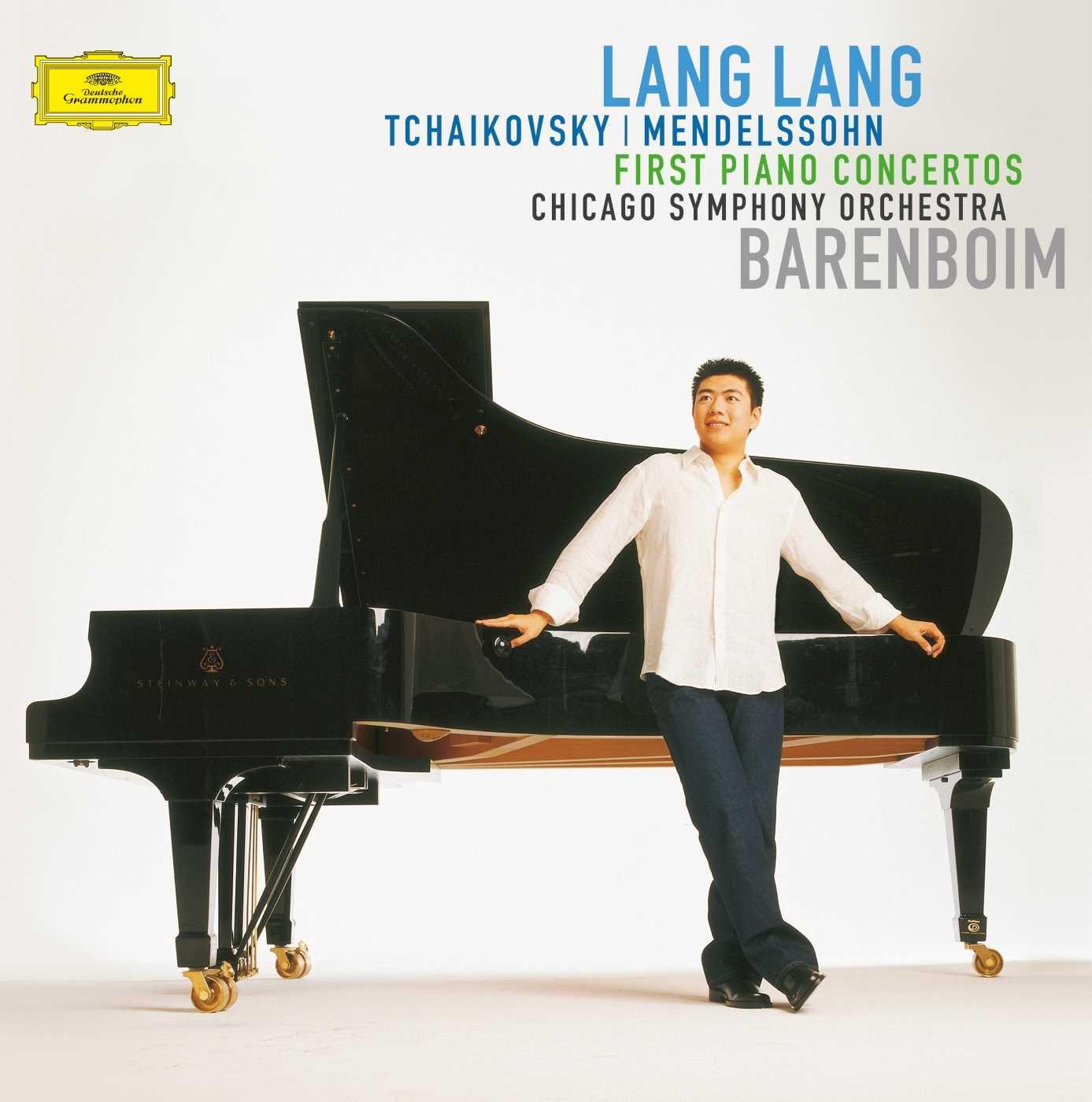 Vinilo : LANG LANG/BARENBOIM/CHICAGO SYMPHONY ORCHESTRA - First Piano Concertos (LP Vinyl)