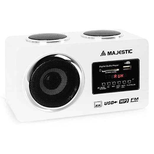 11 opinioni per Majestic AH 173 sistema audio multimediale USB SD AUX bianco