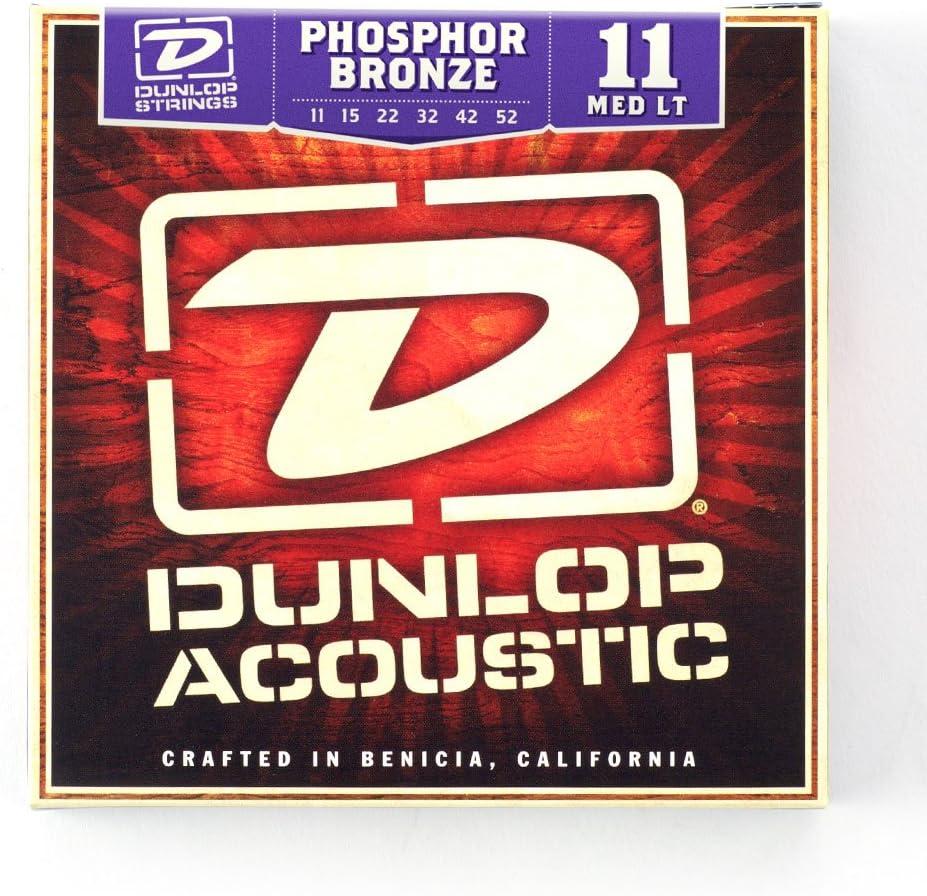 Dunlop DMP1034 Phosphor Light Mandolin Strings Pack of 8