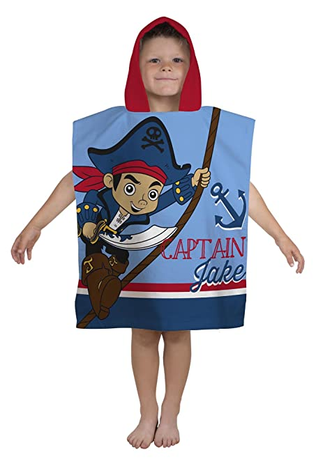 2 opinioni per Disney- Poncho con cappuccio di Capitan Jake e i pirati dell'isola che non c'è