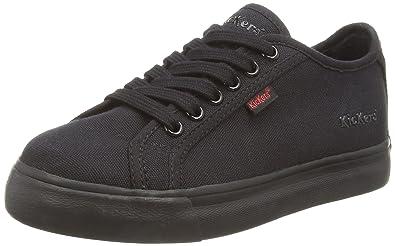 f9949fda Amazon.com: Kickers Tovni Lacer Junior, Boys Low-Top Sneakers, Black ...