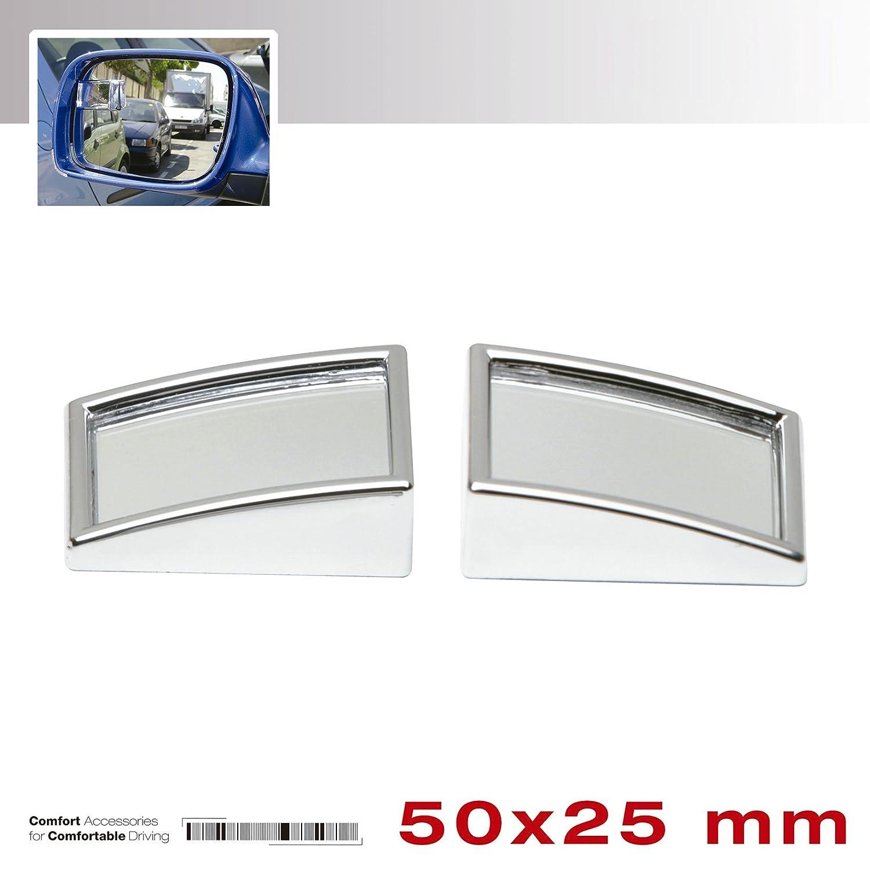 Sumex 1035523 Spiegel f/ür Toten Winkel Chrom 2 St/ück rechteckig